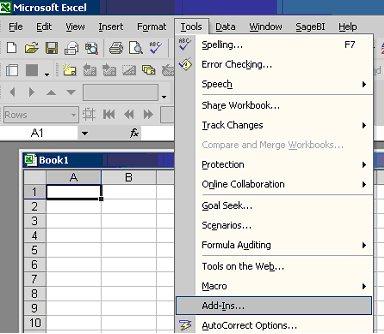 Ask Sage - SageBI Client missing from Excel menu